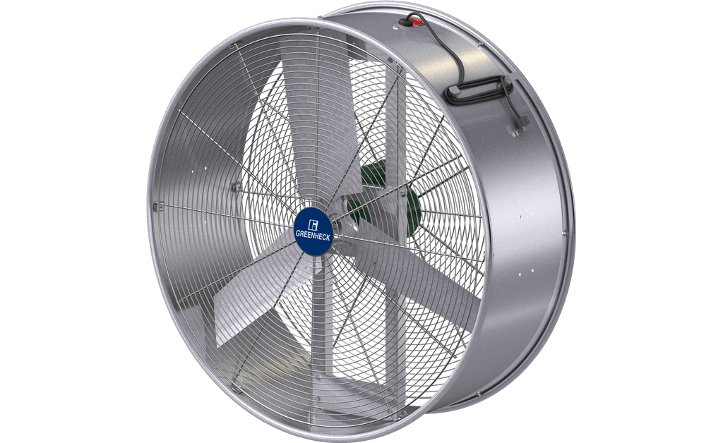 Mobile Air Circulator, Model MAC-36, Direct Drive, 1/2 HP, 115V, 1Ph, 9100-12500 CFM