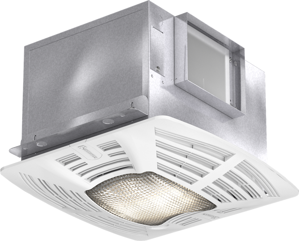 Picture of Bathroom Exhaust Fan, Constant CFM, Lighted, Model SP-A90-130, Vari-Green EC Motor, 115V, 1Ph, 90-130 CFM