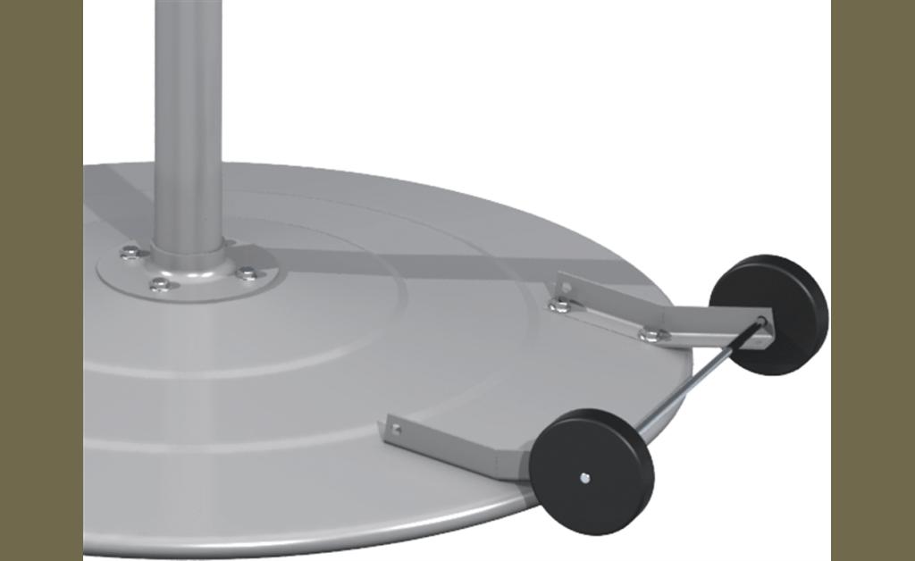 Foto para Wheel Kit, For Model PED-CG72-QD