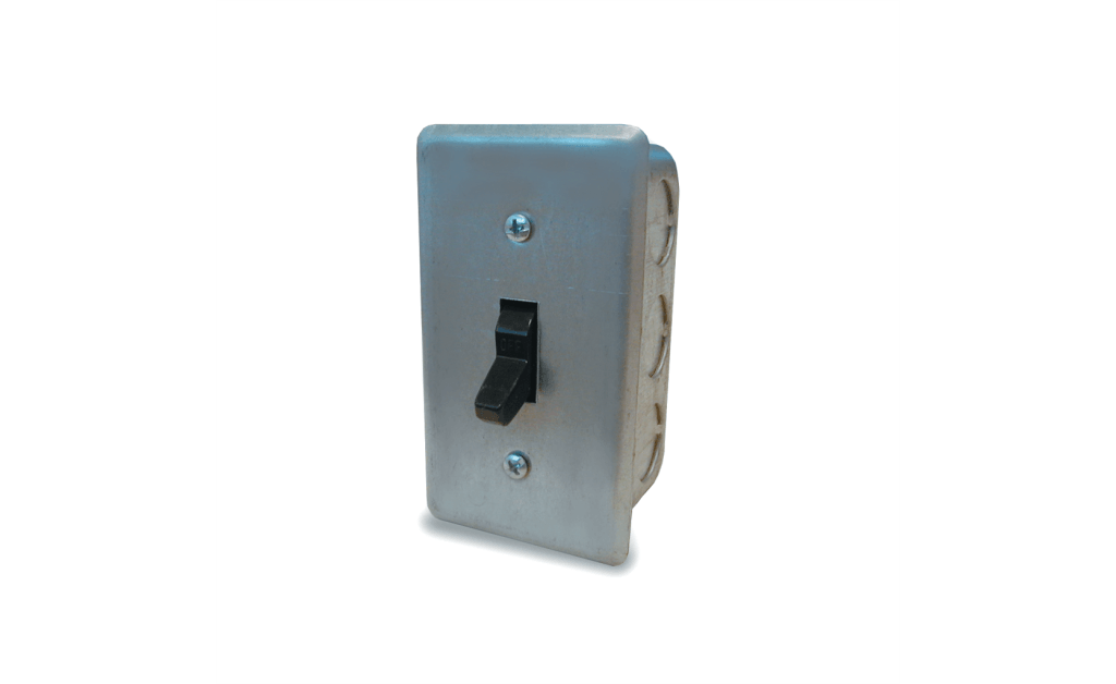 Disconnect Switch, NEMA-1, 1 Pole, Single Throw, Up to 1HP, 120V, Single Phase