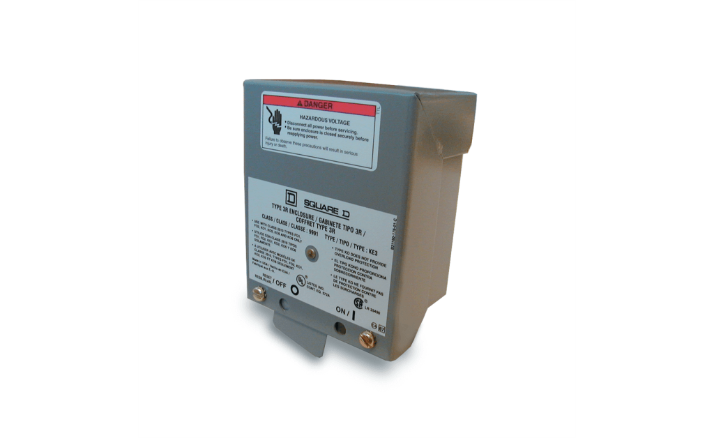 Foto para Disconnect Switch, NEMA-3R Weatherproof, 2 Pole, Single Throw, Up to 2HP, 120/230V, Single Phase
