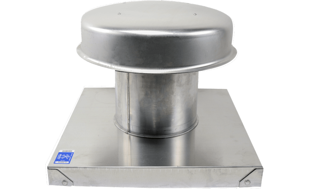 Flat Roof Cap, Model RCC-7, with Curb Cap, For Models SP/CSP