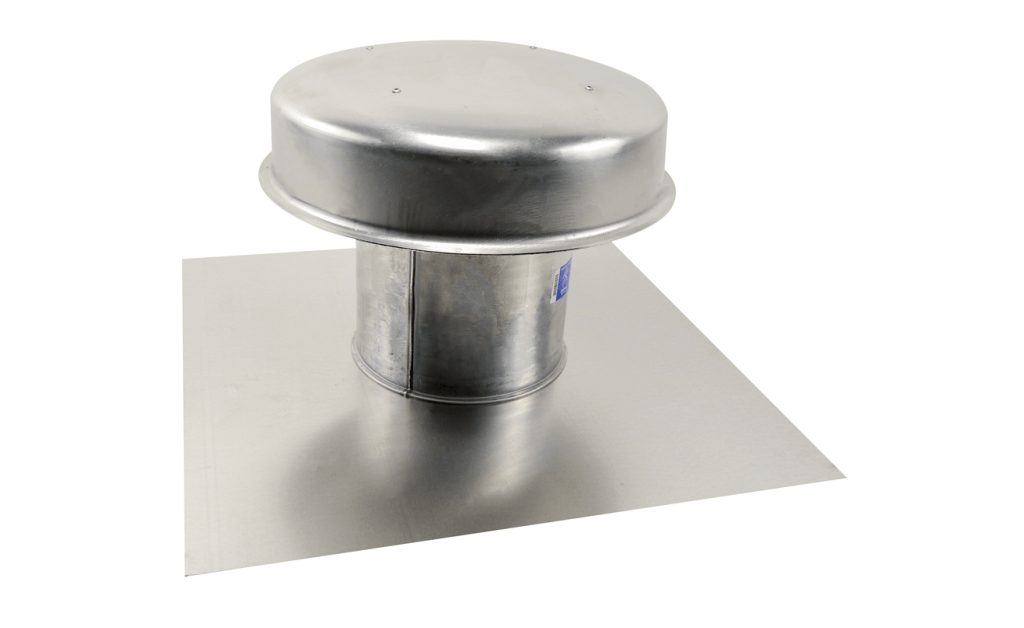 Flat Roof Cap, Model RFC-7, with Flashing Flange, For Models SP/CSP