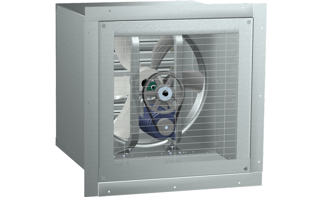 Foto para Wall Housing, For 10 In Sidewall Prop Fan