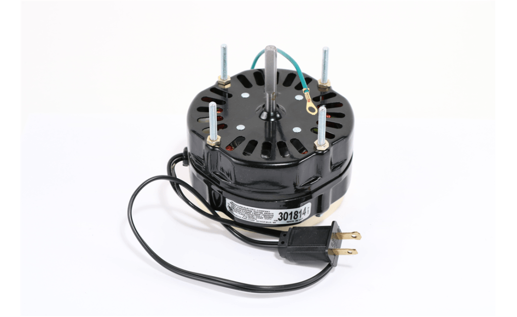 Picture of MOTOR, MCMILLAN ELECTRIC COMPANY, F0408B2509, 10.4 Watts, 1550RPM, 115V, 60HZ, 1PH