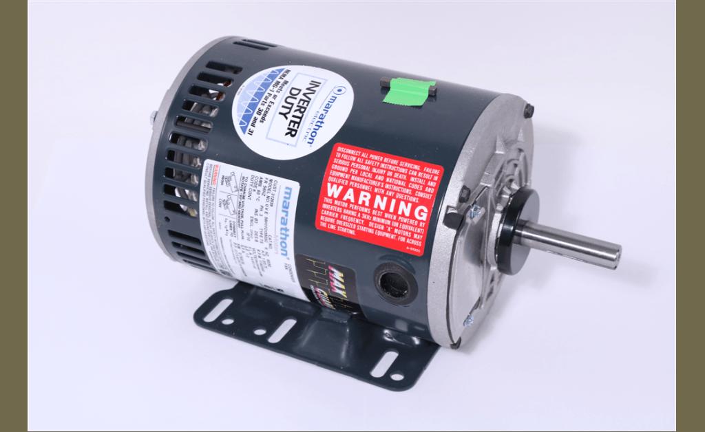 Picture of MOTOR, MARATHON ELECTRIC, 56H11O15503, 0.75|1.0HP, 1000|1200RPM, 190/380//208-230/460V, 50/60HZ, 3PH
