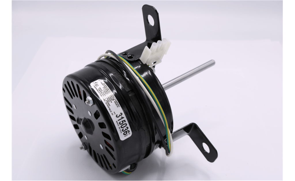 Picture of MOTOR, MCMILLAN ELECTRIC COMPANY, F0410B4381, 18.6 Watts, 1400RPM, 277V, 60HZ, 1PH