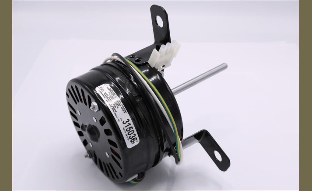 Foto para MOTOR, MCMILLAN ELECTRIC COMPANY, F0410B4381, 18.6 Watts, 1400RPM, 277V, 60HZ, 1PH