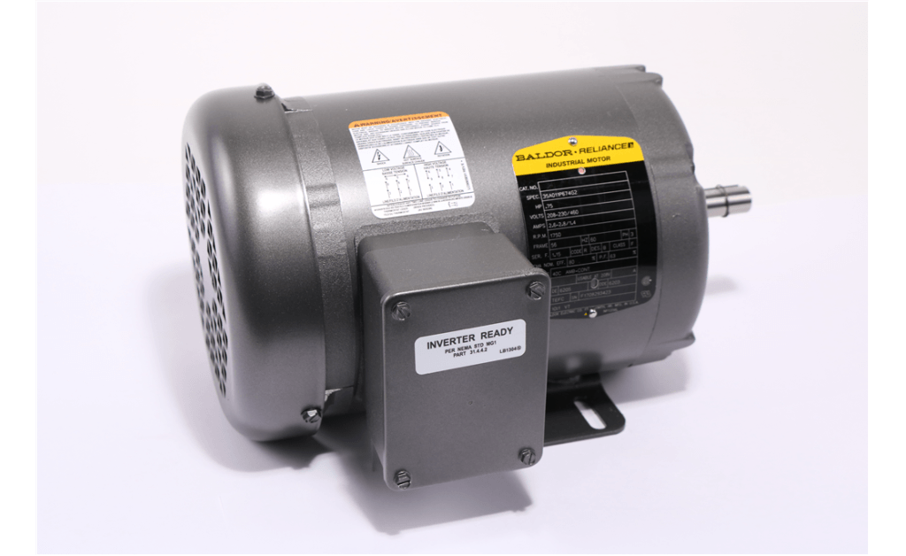 Picture of MOTOR, ABB MOTORS & MECHANICAL INC, 35A011P674G2, 0.75HP, 1800RPM, 208-230/460V, 60HZ, 3PH
