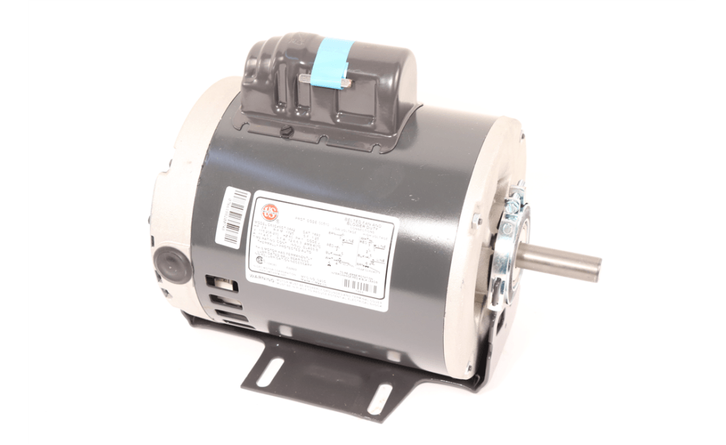 Picture of MOTOR, NIDEC MOTOR CORP, 1893, 0.75HP, 1800RPM, 115/208-230V, 60HZ, 1PH