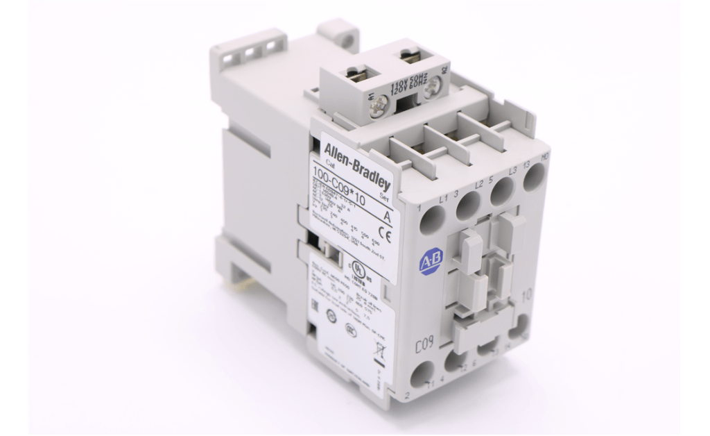 Picture of CONTACTOR, AB 100-C09D10 3POLE 9A