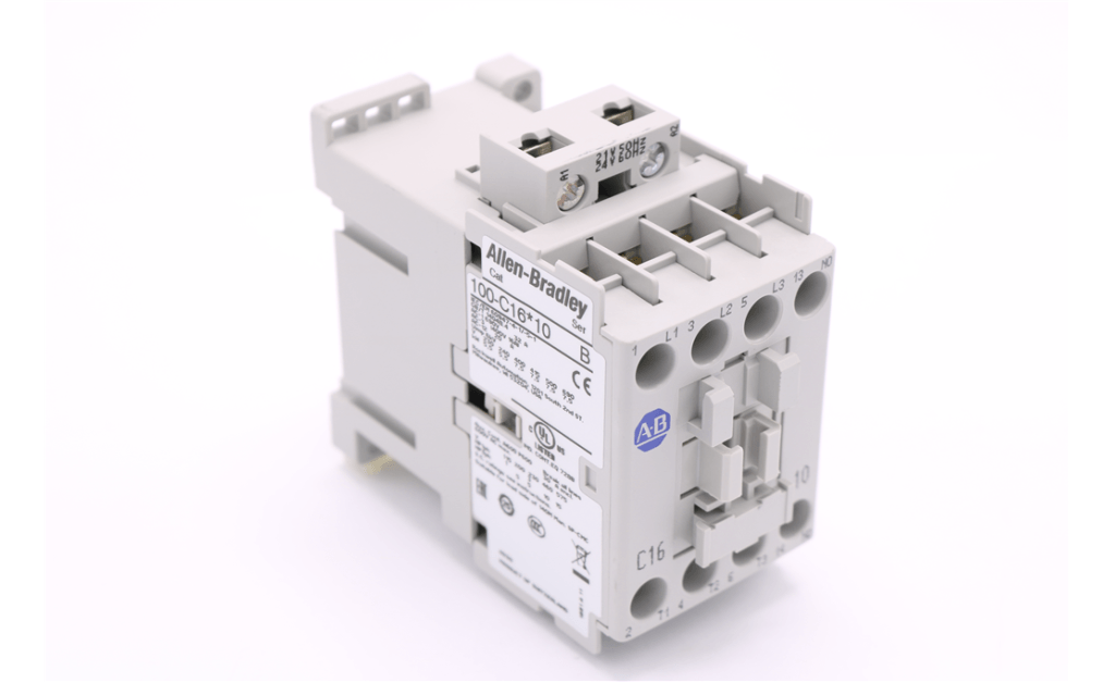 Picture of CONTACTOR,16A AB#100-C16J10 24VAC