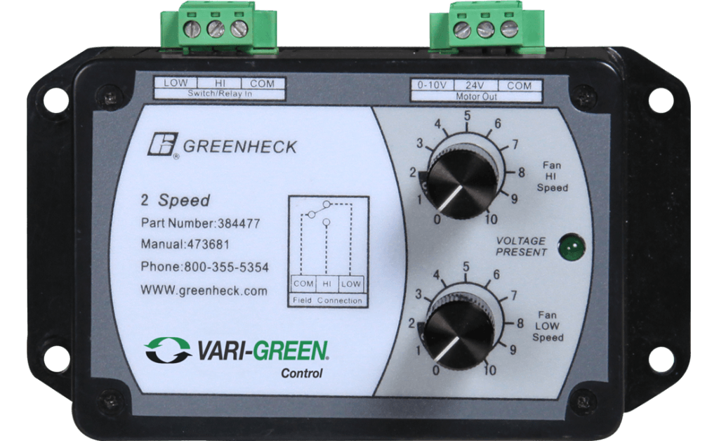 Imagen de Vari-Green 2-Speed Control, with Digital Inputs