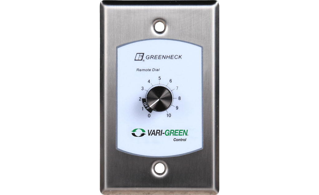 Picture of Vari-Green Remote Dial Control, with Min/Max Setting