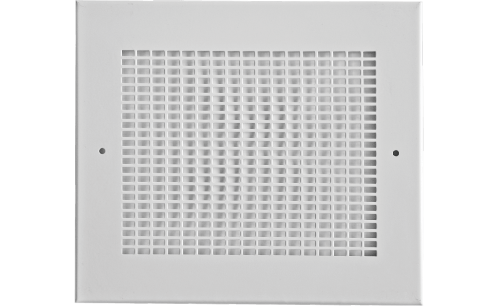 Aluminum Grille with white enamel finish, For use with Model SP-A200-A390 and SP-B50-B200