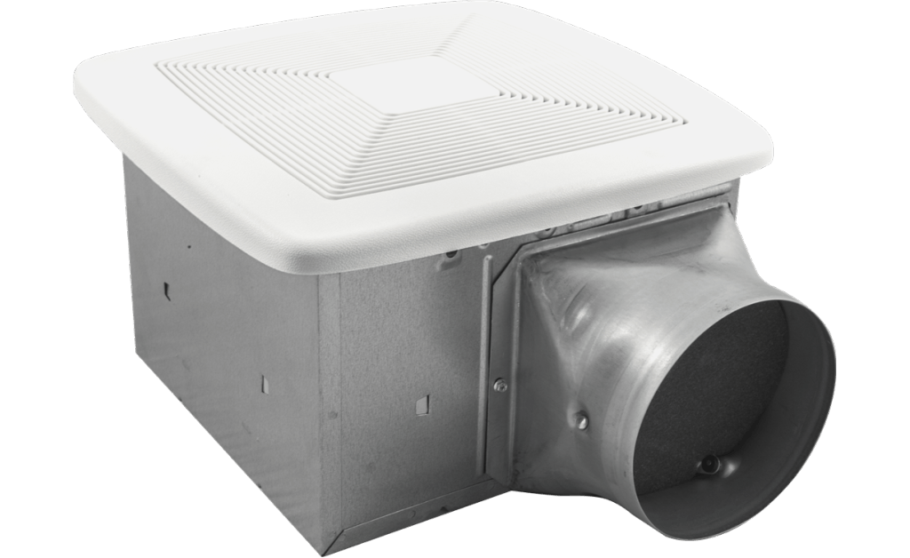 Bathroom Exhaust Fan, Variable Speed, Model SP-80-VG, 115V, 1Ph, 38-80 CFM