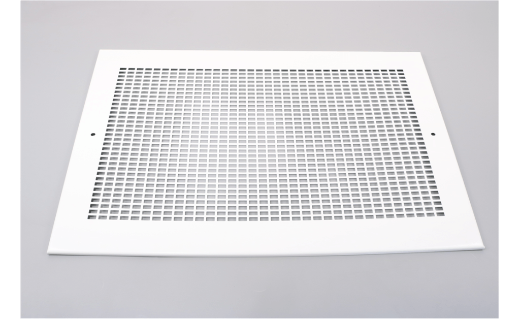 Picture of Aluminum Grille with white enamel finish, For use with Model SP-A900-A1550.
