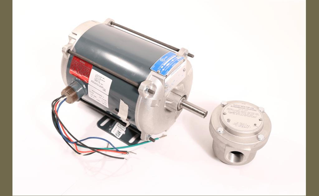 Picture of MOTOR, MARATHON ELECTRIC, 5KC49LN6386, 0.167HP, 1200RPM, 115V, 60HZ, 1PH