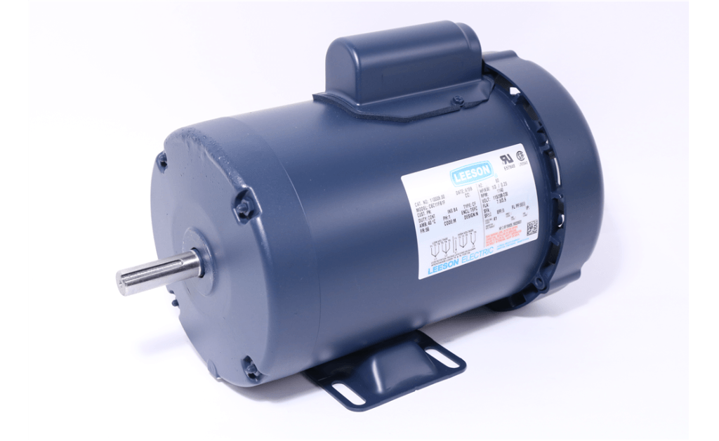 Picture of MOTOR, LEESON ELECTRIC CORP, 110009, 0.333HP, 1200RPM, 115/208-230V, 60HZ, 1PH