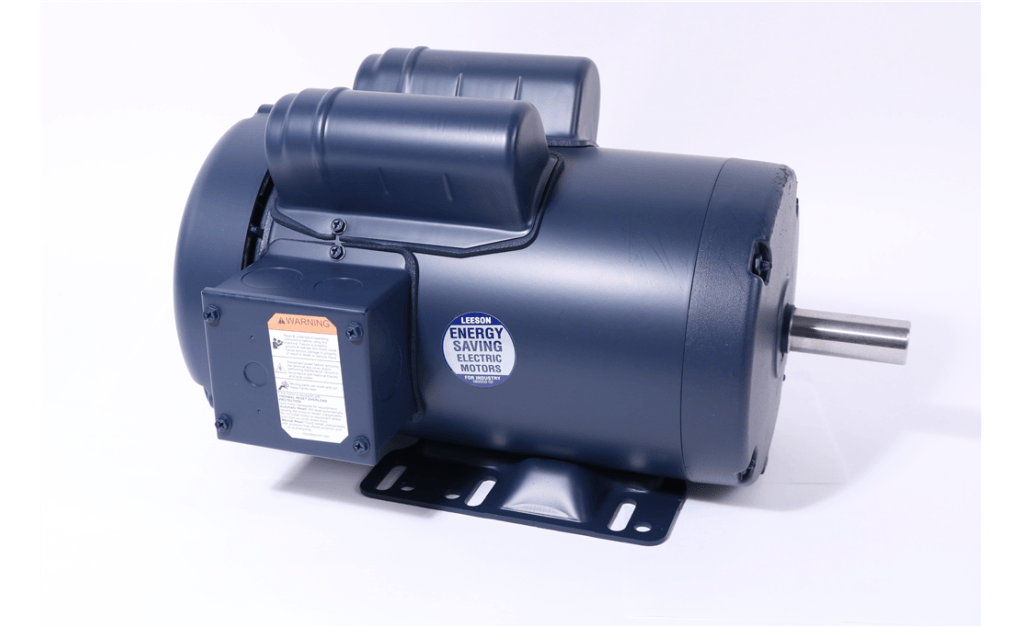 Picture of MOTOR, LEESON ELECTRIC CORP, 120043, 1HP, 1200RPM, 115/208-230V, 60HZ, 1PH