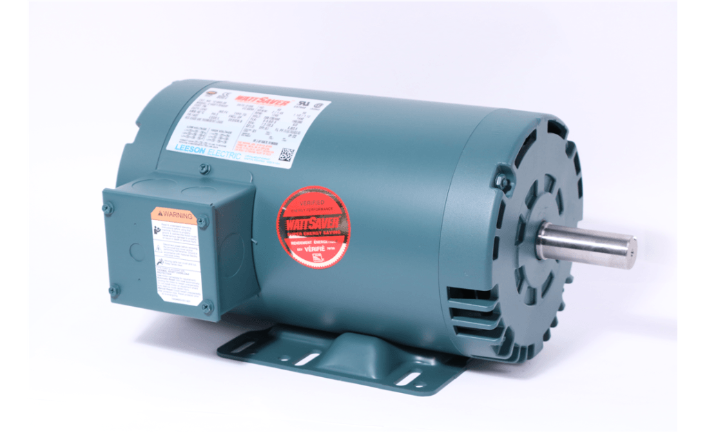 Picture of MOTOR, LEESON ELECTRIC CORP, 121005, 2HP, 1800RPM, 208-230/460V, 60HZ, 3PH