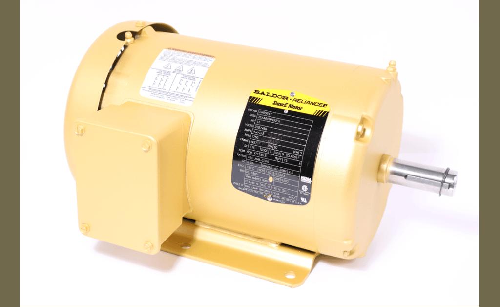 Picture of Motor, Baldor/ABB, EM3554T, 1.5HP, 1800RPM, 208/230/460V, 60HZ, 3PH