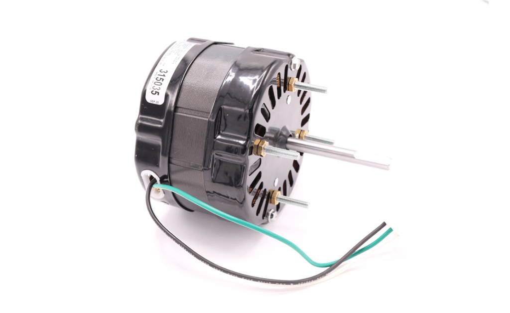 Picture of MOTOR, MCMILLAN ELECTRIC COMPANY, F0420B4380, 25.4 Watts, 1100RPM, 277V, 60HZ, 1PH