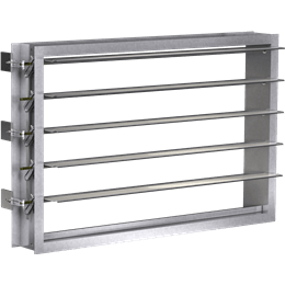 Industrial Backdraft Dampers | Greenheck