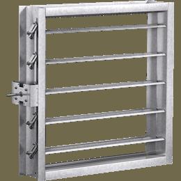 Rectangular Industrial Control Dampers   Greenheck