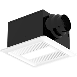 Picture of Bathroom Exhaust Fan, Lighted, Model SP-AP0511WL, 115V, 1Ph, 30-110 CFM