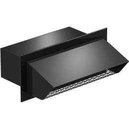 Picture of Rectangular Connection Hooded Wall Cap, Model WC-10x3, For Models SP/CSP