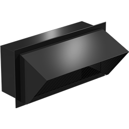 Imagen de Rectangular Connection Hooded Wall Cap, Model WC-18x8, For Models SP/CSP