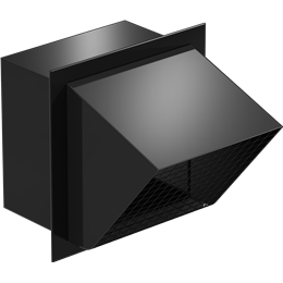 Picture of Square Connection Hooded Wall Cap, Model WC-8x8, For Models SP/CSP