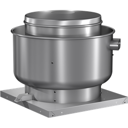 Picture of Centrifugal Upblast Exhaust Fan, Variable Speed, Model CUE-080, Direct Drive, Vari-Green EC motor, 1/10HP, 115/208-230V, 1Ph, 133-534 CFM