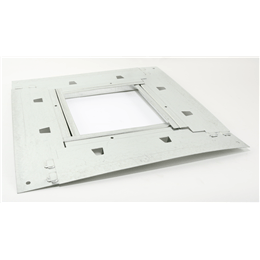 Picture of Damper Tray, Accommodates 12 In Damper installed in Roof Curb Model GPI-22