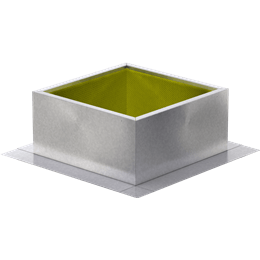 Imagen de Roof Curb for 34 In. Square Base, for High Wind Applications, 24 In. High