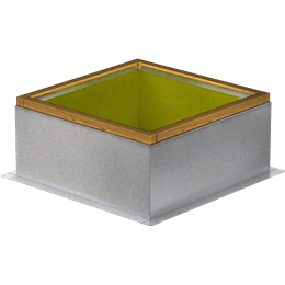 Imagen de Roof Curb for 26 In. Square Base, 12 In. High