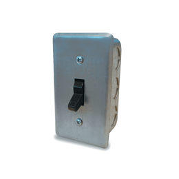 Picture of Disconnect Switch, NEMA-1, 1 Pole, Single Throw, Up to 1/2HP, 120V, Single Phase