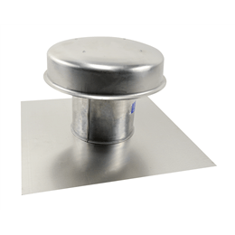 Imagen de Flat Roof Cap, Model RFC-7, with Flashing Flange, For Models SP/CSP