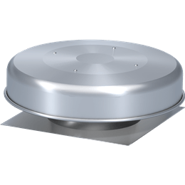 Imagen de Spun Aluminum Gravity Ventilator with Flashing Flange, Size 10, Model GRSF-10