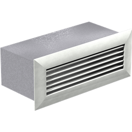Picture of Wall Louvered Discharge, Model WL-10x3, For Models SP/CSP