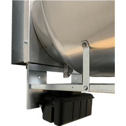Picture of Grease trap, For use with wall-mounted models CUE and CUBE, Sizes 180-200