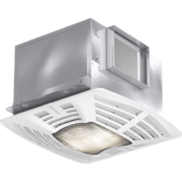 Imagen de Bathroom Exhaust Fan, Lighted, Model SP-A125-L, 115V, 1Ph, 109-144 CFM