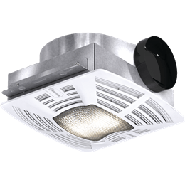 Picture of Bathroom Exhaust Fan, Low Profile, Lighted, Model SP-B110-L, 115V, 1Ph, 50-133 CFM